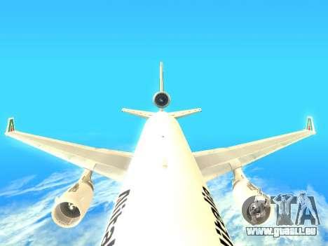 McDonnell Douglas MD-11 Alitalia pour GTA San Andreas vue de côté