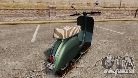GTA IV TBoGT Pegassi Faggio pour GTA 4 est un droit