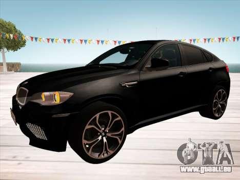 BMW X6M 2010 pour GTA San Andreas moteur