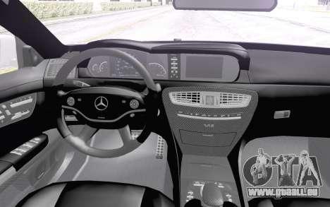 Mercedes-Benz CL65 AMG für GTA San Andreas Rückansicht