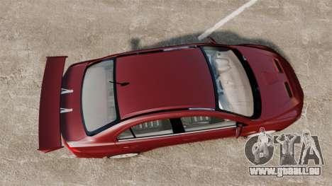 Mitsubishi Lancer Evolution X für GTA 4 rechte Ansicht