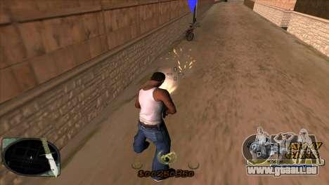 C-HUD Army Gang pour GTA San Andreas troisième écran