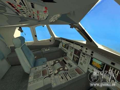 A380-800 Hainan Airlines pour GTA San Andreas vue de côté
