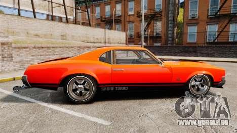 Declasse SabreGT new wheels pour GTA 4 est une gauche