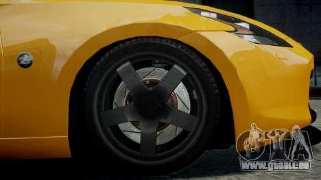 Nissan 370Z 2009 pour GTA 4 est un droit