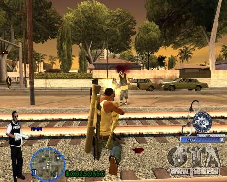 C-HUD For Police Departament pour GTA San Andreas sixième écran