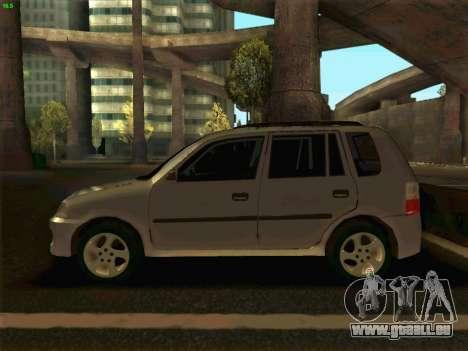 Mazda Demio 1998 pour GTA San Andreas laissé vue