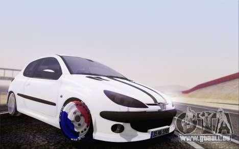 Peugeot 206 Mehmet ALAN für GTA San Andreas
