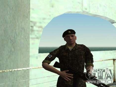 Le Corps des marines des forces armées de l'Ukra pour GTA San Andreas quatrième écran