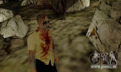 Zombies von GTA V für GTA San Andreas her Screenshot