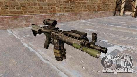 Automatische M4 carbine für GTA 4