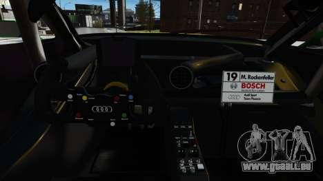 Audi RS5 DTM für GTA 4 Seitenansicht