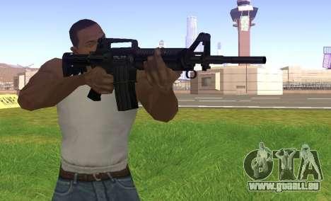 M4A1 pour GTA San Andreas troisième écran