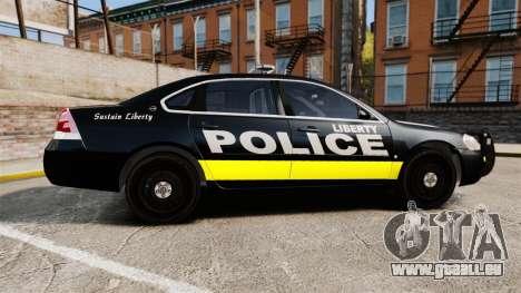 Chevrolet Impala 2008 LCPD [ELS] pour GTA 4 est une gauche