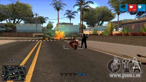 C-HUD Lumia GTA V für GTA San Andreas her Screenshot