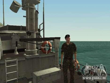 Le Corps des marines des forces armées de l'Ukra pour GTA San Andreas huitième écran