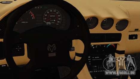 Dodge Stealth Turbo RT 1996 pour GTA 4 Salon