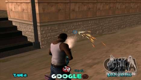 C-HUD Google für GTA San Andreas dritten Screenshot