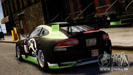 Jaguar XKR GT pour GTA 4 Vue arrière de la gauche