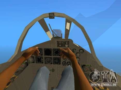 FMA IA-58 Pucara für GTA San Andreas Rückansicht
