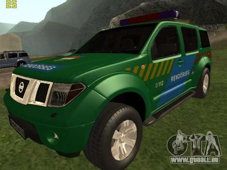 Nissan Pathfinder Police pour GTA San Andreas