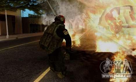 Kopassus Skin 1 für GTA San Andreas siebten Screenshot