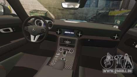 Mercedes-Benz SLS 2014 AMG Black Series Area 27 pour GTA 4 est un côté