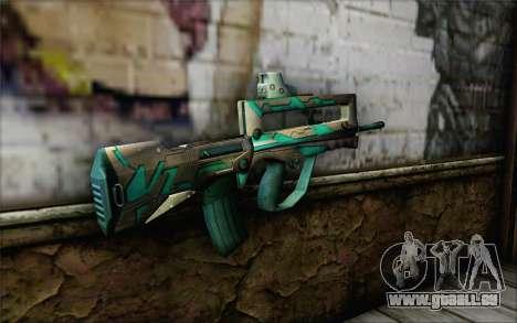 Famas G2 Commando Blaze pour GTA San Andreas deuxième écran