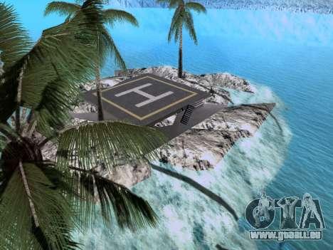 Nouvelle île v1.0 pour GTA San Andreas septième écran