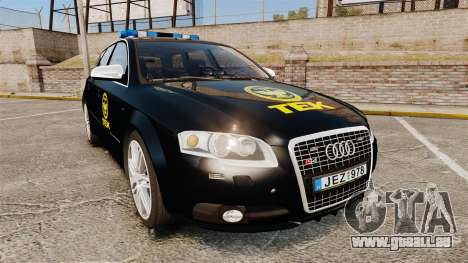 Audi S4 Avant TEK [ELS] pour GTA 4