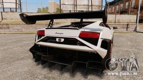 Lamborghini Gallardo LP570-4 Super Trofeo pour GTA 4 Vue arrière de la gauche
