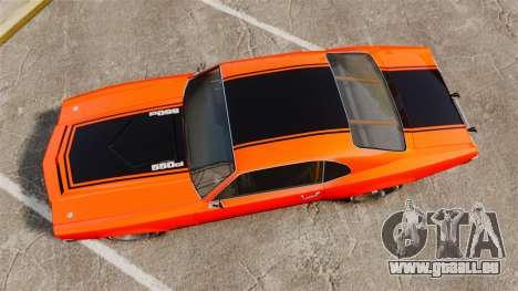 Declasse SabreGT new wheels für GTA 4 rechte Ansicht
