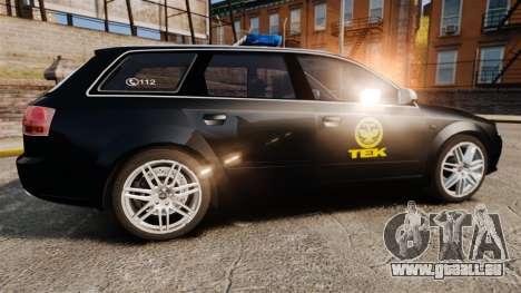 Audi S4 Avant TEK [ELS] pour GTA 4 est une gauche