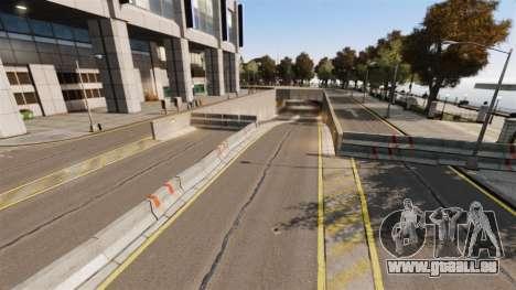 Illégales de la rue de la dérive de la piste pour GTA 4 huitième écran