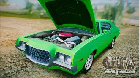 Ford Gran Torino De 1972 pour GTA San Andreas vue de côté