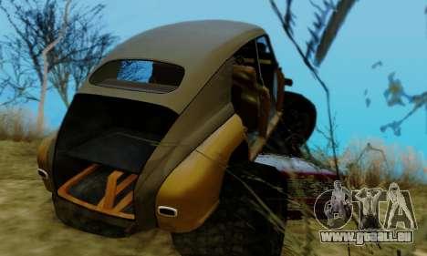 GAZ M20 Monstre pour GTA San Andreas vue de côté