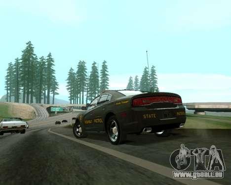 Dodge Charger 2012 SAHP für GTA San Andreas linke Ansicht