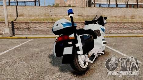 BMW R1150RT Police municipale [ELS] für GTA 4 hinten links Ansicht
