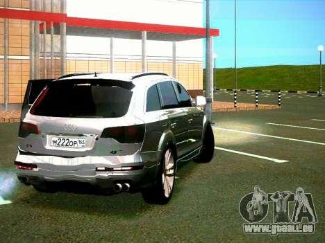 Audi Q7 pour GTA San Andreas vue de droite