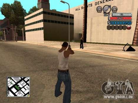 Die neue C-HUD für GTA San Andreas zweiten Screenshot