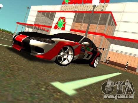Nissan Silvia S15 Team Dragtimes pour GTA San Andreas