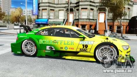 Audi RS5 DTM für GTA 4 linke Ansicht