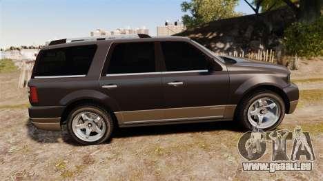 Dundreary Landstalker new wheels für GTA 4 linke Ansicht