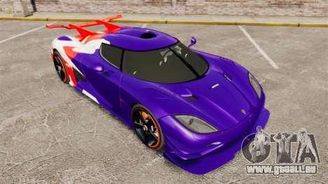 Koenigsegg One:1 für GTA 4 Seitenansicht