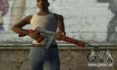 Thompson M1 pour GTA San Andreas troisième écran