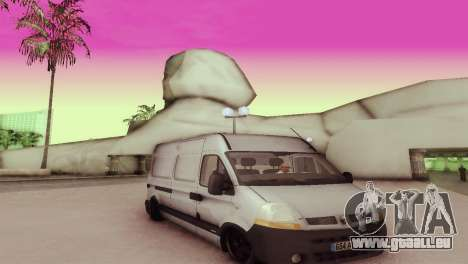 Renault Master pour GTA San Andreas