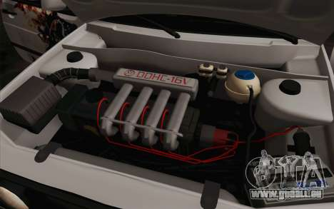 Volkswagen Golf 2 für GTA San Andreas obere Ansicht