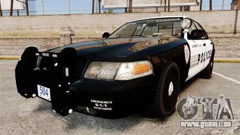 Ford Crown Victoria LCPD [ELS] für GTA 4