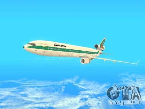 McDonnell Douglas MD-11 Alitalia pour GTA San Andreas vue de dessus