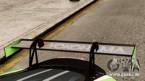 Jaguar XKR GT pour GTA 4 Vue arrière